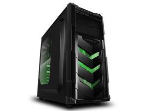 Raidmax Vortex V4 ATX-404WB No Power Supply ATX Mid Tower Gaming Case Black