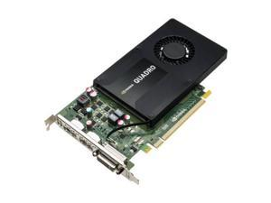 PNY NVIDIA Quadro K2200 4GB GDDR5 DVI/2DisplayPorts PCI-Express Video Card shipping from US