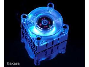 Low Noise Akasa AK-210 Blue Chipset Cooler New
