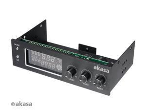 Akasa FC.Six Fan Controller Black AK-FC07-BK