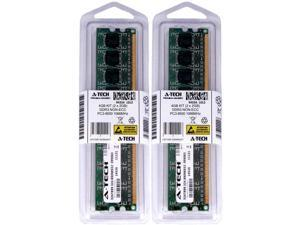 Atech 4GB Kit Lot 2x 2GB DIMM DDR3 Desktop 8500 1066MHz 1066 240pin Ram Memory