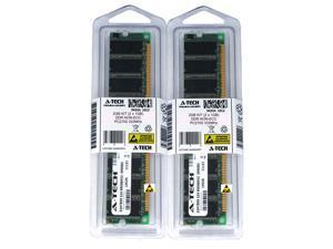 Atech 2GB Kit Lot 2x 1GB DDR Desktop PC2700 2700 333 333mhz 184-pin Memory Ram