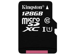 Kingston TF 128GB UHS-I Class10 TF(Micro SD) 80MB/s  Memory Flash Card with One TF SD Card Reader Adapter for MacBook Air/Pro Mac