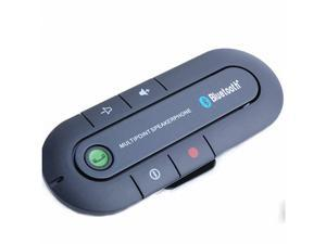 Portable Multipoint Wireless Hands-Free Bluetooth In-Car Speakerphone Car Kit