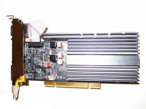 GeForce GT 610 512MB DDR3 PCI DVI-HDMI-VGA Low Profile Ready Desktop Video Graphics Card For Windows 10/8/7/Vista/XP/2003 Linux Solaris FreeBSD shipping from US
