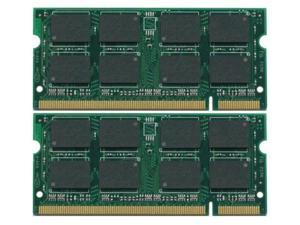 4GB Kit (2x2GB) DDR2-667MHz 200-Pin SODIMM Laptop Memory for Dell Latitude D630 D830 for BIOS A17 or later