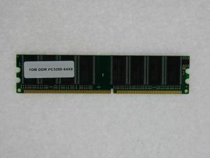 1GB MEMORY PC 3200 400MHz DDR1 64X8 FOR COMPAQ PRESARIO SR1711NX SR1717CL-B SR1719IT SR1726NX SR1727NL