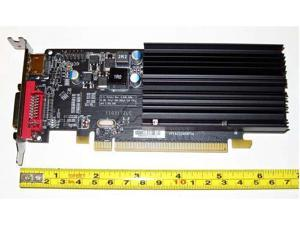 ATI Radeon HD 5450 1GB DDR3 Single Slot Low Profile Half Height Size PCI-E x16 Single Slot Video Graphics Card shipping from US