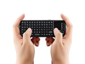 2.4G RF Mini Wireless Keyboard Touchpad Handheld Smart TV PC Remote iPazzPort