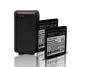 Generic 2x 1800mAh Battery + Charger F/ HTC Sensation XL, G14, Sensation XE, Mytouch 4G