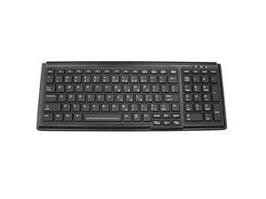 TG3 TG103R-BNURUS Backlit Washable Keyboard with Numberpad