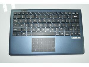 TouchPad Wireless Bluetooth Keyboard For iPad Win 8 Android Smartphones PC Blue