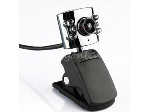 New 80.0M Mega 6 LEDs Webcams Video Camera USB + Mic for PC Laptop Notebook Win 7 8 hot