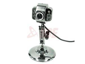 USB Webcam 6 LED Night Vision with Mic for Laptop PC Microphone Metal Cam New hot
