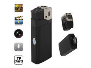 Full HD 1080P Lighter Spy Hidden Pinhole Camera Recorder DVR MINI DV flashlight