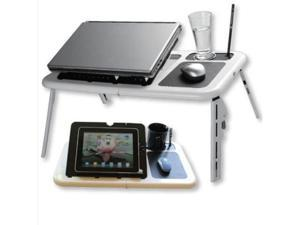 0-70 degree Portable Laptop Folded Stand  N-ew Plastic Table Notebook Bed Sofa Laptop Desk Furniture