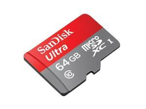SanDisk 64GB Micro SD SDXC MicroSD TF Class 10 64G 64 GB Mobile Ultra 80MB/s - Pack of 2
