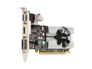 MSI NVIDIA GeForce 210 1GB GDDR3 HDMI Low Profile PCI-E Video Card shipping from US
