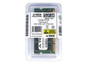 512MB SODIMM Samsung V20 V20E cXT 1700 V25 V20 cXT 1700 cXTC 1800 Ram Memory