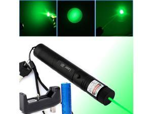 Green Laser Pointer Pen G301 532nm Burning Lazer Visible Beam +18650 + Charger