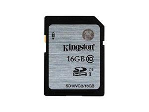 Kingston 16GB 16G SDHC SD 45MB/s UHS-I U1 C10 SD10VG2  full HD memory card