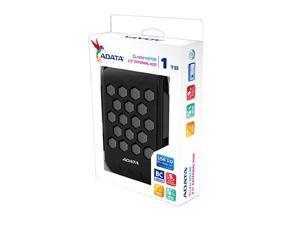 ADATA HD720 1TB Waterproof/Dustproof/Shockproof External Hard Drive Black