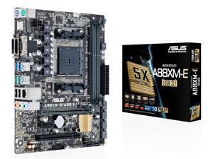 ASUS A88XM-E/USB 3.1 Desktop Motherboard FM2+ SATA3 DDR3 Micro ATX