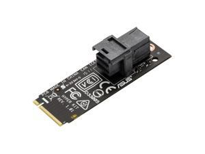 ASUS Hyper Kit Expansion Card M.2 to Mini SAS HD adapter For Z170 H170 B150 X99