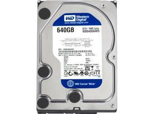 """Western Digital WD Blue WD6400AAKS 640GB 7200 RPM 16MB Cache SATA 3.0Gb/s 3.5"""" Internal Hard Drive Bare Drive"""