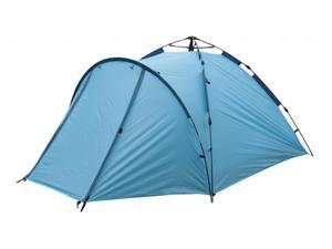 BRAND NEW EASY SETUP 4 PERSON WATERPROOF CAMPING TENT DOUBLE LAYEERS W/RAIN FLY & CARRY BAG