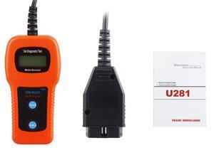 OBD2 Scanner ABS SRS Car Failure Detection Diagnostic Scan Tool U281 for VW AUDI