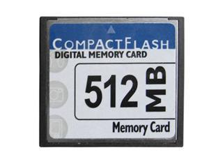 CompactFlash CF 512 MB Memory Standard Card New W/Case