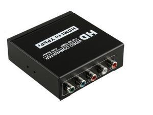 Video Converter HDMI To YPbPr RGB 5RCA Component Stereo Audio HD For PS3 TV