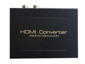 1080P HDMI To HDMI + Audio (SPDIF + RCA Stereo) Audio Extractor Converter