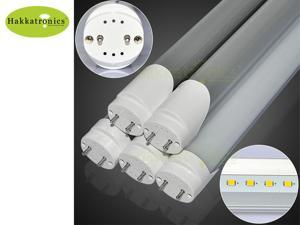 Hakkatronics, T8 LED Tube 18w, AC120V, Cool White, Daylight 6000k 1.2m 4ft 48'' SMD2835 40w CFL tubes Replace 10 pieces / Pack US delivery UL Standard