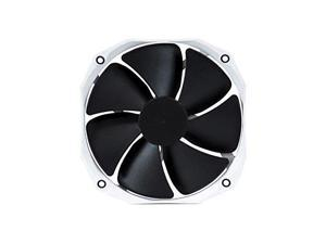 Phanteks 140mm CPU Cooler Fan Upgrade, PWM, 1600 RPM High-Static Pressire, Blades Retail Cooling PH-F140HP_BK2 White/Black