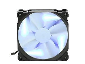 Phanteks 1300RPM Blades 120mm Case Fan Blue LED with ON/OFF Switch Retail Cooling PH-F120SP_BLED White