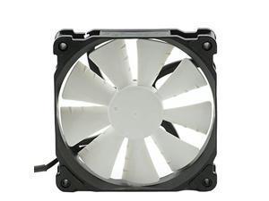 Phanteks 1300RPM Frame/White Blades 120mm, Case and Radiator Fan Retail Cooling PH-F120SP_BK Black