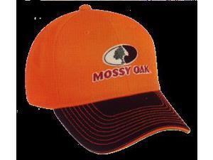 Mossy Oak Logo Cap Blaze Orange