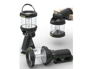 Blackfire Clamplight LED Lantern-Black/Green BBM910
