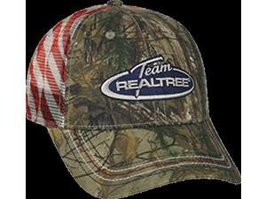 Outdoor Cap Team Realtree Xtra Mesh Back w/USA Flag