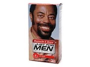 Just for Men Brush-In Color Gel for Mustache, Beard & Sideburns, Jet Black, M-60, 1 kit, (Pack of 3)