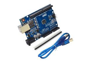 Atmel Atmega328 Arduino UNO R3 development board improved version With USB Cable