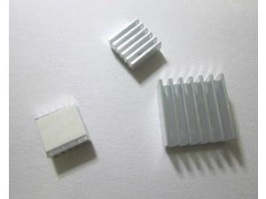WWH-Raspberry pi special aluminum heatsink kit (including three with heat paste)