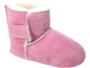 Minnetonka Sheepskin Pug 1473 Pink - Infants Boots