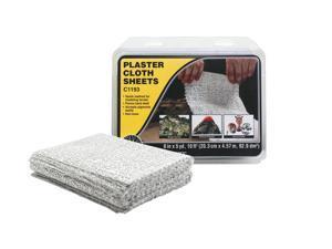 "Woodland Scenics-Plaster Cloth -- Sheets 8 x 12""  19-13/16 sq.ft.  20.3 x 30.4cm"