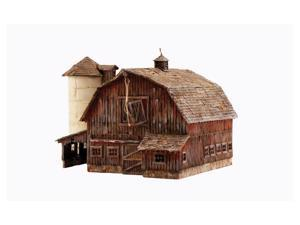 Woodland Scenics N Scale Built-&-Ready Structures Old Weathered Barn - BR4932