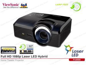 ViewSonic PRO9000 Lamp Free,Laser LED,Full HD 1080p,HDMI,Home Theater Projector