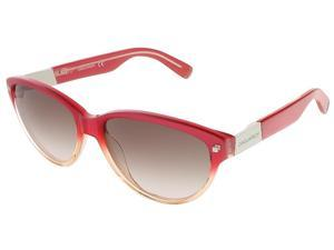 Dsquared DQ0147/S 44F Coral Gradient Cat Eye sunglasses