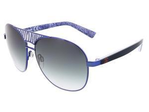 Just Cavalli JC 509 92W Navy Blue Aviator Sunglasses